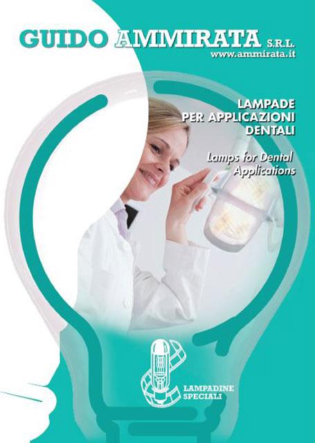 Catalogo Ammirata Lampade per Applicazioni Dentali